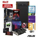 ACom Ultra Gamer L 2019 - Win 10 Pro - Core i7-9700K / 8x 3.6 GHz - 32 GB RAM - 500 GB SSD + 2 TB HDD - DVD-Brenner - GF RTX 2070 - WLAN, Bluetooth
