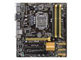 ASUS Q87M-E - Motherboard - Mikro-ATX - LGA1150-Sockel - Q87 - USB 3.0 - Gigabit LAN - Onboard-Grafik (CPU erforderlich) - HD Audio (8-Kanal)
