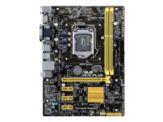 ASUS H81M-PLUS - Motherboard - Mikro-ATX - LGA1150 Socket - H81 - USB 3.0 - Gigabit LAN - Onboard-Grafik (CPU erforderlich) - HD Audio (8-Kanal)