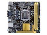 ASUS H81I-Plus - Motherboard - Mini-ITX - LGA1150 Socket - H81 - USB 3.0 - Gigabit LAN - Onboard-Grafik (CPU erforderlich) - HD Audio (8-Kanal)