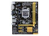 ASUS H81M-K - Motherboard - FlexATX - LGA1150 Socket - H81 - USB 3.0 - Gigabit LAN - Onboard-Grafik (CPU erforderlich) - HD Audio (8-Kanal)