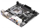 ASRock H81M-ITX - Motherboard - Mini-ITX - LGA1150 Socket - H81 - USB 3.0 - Gigabit LAN - Onboard-Grafik (CPU erforderlich) - HD Audio (8-Kanal)