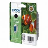 Epson T026 - Druckerpatrone - 1 x Schwarz - 540 Seiten - Blisterverpackung