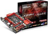 ASRock Fatal1ty X99M Killer - Motherboard - Mikro-ATX - LGA2011-v3 Socket - X99 - USB 3.0 - 2 x Gigabit LAN - HD Audio (8-Kanal)