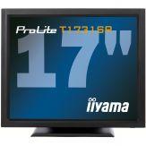 """Iiyama ProLite T1731SR-B1 - LCD-Monitor - 43.2 cm ( 17"""" ) 5:4 - 1280 x 1024 - TN - 200 cd/m2 - 900:1 - 5 ms - DVI-D, VGA - Lautsprecher - Schwarz"""