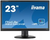 "Iiyama ProLite XB2380HS - Business LED-Monitor - 58.4 cm (23"") - 1920 x 1080 Full HD - IPS - 250 cd/m² - 1000:1 - 5 ms - HDMI, DVI-D, VGA - Lautspr."