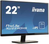 """Iiyama ProLite XU2290HS - LED-Monitor - 54.7 cm (21.5"""") - 1920 x 1080 FullHD - IPS - 250 cd/m2 - 5 ms - HDMI, DVI-D, VGA - Lautsprecher - schwarz"""