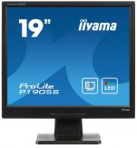 "Iiyama ProLite P1905S-2 - LED-Monitor - 48.3 cm ( 19"" ) - 1280 x 1024 - TN - 300 cd/m2 - 1000:1 - 5 ms - DVI-D, VGA - Lautsprecher - Schwarz"