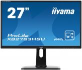 "Iiyama ProLite XB2783HSU-1 - Business LED-Monitor - 68.6 cm (27"") - 1920 x 1080 Full HD - A-MVA - 300 cd/m² - 3000:1 - 4 ms - HDMI, DVI, VGA - Lautsp."