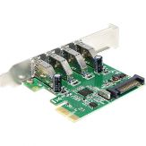 DeLock PCI Express Card > 4 x USB 3.0 - USB-Adapter - PCI Express 2.0 x1 - USB 3.0 x 4