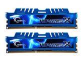 G.Skill Ripjaws-X - Memory - 8 GB : 2 x 4 GB - DIMM 240-PIN - DDR3 - 2400 MHz / PC3-19200 - CL11 - 1.65 V - ungepuffert - nicht-ECC
