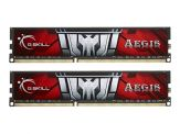 G.Skill AEGIS F3-1600C11D-16GISL - Memory - 16 GB : 2 x 8 GB - DIMM 240-PIN - DDR3 - 1600 MHz / PC3-12800 - CL11 - 1.35 V - ungepuffert - nicht-ECC