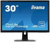 "Iiyama Prolite XB3070WQS-B  LED-Monitor - 75.6 cm/30"" - 2560x1600 - AH-IPS LED - 350 cd/m2 - 1000:1 - 5000000:1 (dyn.) - 5 ms - HDMI, DVI-D, VGA, DP"