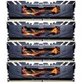 G.Skill Value Series - Memiory - DDR4 - 16 GB : 4 x 4 GB - DIMM 288-PIN - 2133 MHz / PC4-17000 - CL15 - 1.2 V - ungepuffert - nicht-ECC