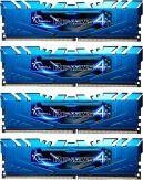 G.Skill Ripjaws 4 Series - DDR4 - 32 GB : 4 x 8 GB - DIMM 288-PIN - 2133 MHz / PC4-17000 - CL15 - 1.2 V - ungepuffert - nicht-ECC - Blau