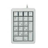 CHERRY Keypad G84-4700 - Tastenfeld - USB - Deutsch - Hellgrau