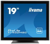 "Iiyama ProLite T1932MSC - LCD-Monitor - 48 cm ( 19"" ) 5:4 - Multi-Touch - 1280 x 1024 - IPS - 1000:1 - 14 ms - DVI-D, VGA, USB - Lautsprecher - Schwar"