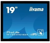 "Iiyama ProLite TF1934MC - LED-Monitor - 48 cm ( 19"" ) 5:4 - Multi-Touch - 1280 x 1024 FullHD - IPS - 225 cd/m2 -- 14 ms - DVI-D, VGA, USB"