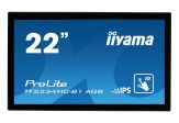 "Iiyama ProLite TF2234MC - LED-Monitor - 54.7 cm( 21.5"" ) Multi-Touch - 1920 x 1080 FullHD - IPS - 300 cd/m2 - 5Mio.:1 (dyn.) - 14ms -  Pivot - DVI,VGA"