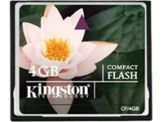 Kingston - Flash-Speicherkarte - 4 GB - CompactFlash