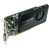 PNY NVIDIA Quadro K2200 - Grafikkarten - Quadro K2200 - 4 GB GDDR5 - PCIe 2.0 x16 - DVI, 2 x DisplayPort