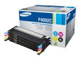 Samsung CLT-P4092C - 4er-Pack Schwarz - Gelb - Cyan - Magenta - Original - Tonerpatrone - für CLP-310 - 310N - 315 - 315W; CLX-3170FN - 3175N/FN/FW
