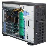 Supermicro SC745 TQ-R800B - Tower - 4U - SATA/SAS - Hot-Swap 800 Watt - Schwarz - USB