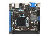 MSI H81I - Motherboard - Mini-ITX - LGA1150 Socket - H81 - USB 3.0 - Gigabit LAN - Onboard-Grafik (CPU erforderlich) - HD Audio (8-Kanal)