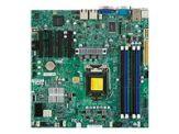 SUPERMICRO X9SCM-F - Motherboard - Mikro-ATX - LGA1155 Socket - C204 - 2 x Gigabit LAN - Onboard-Grafik