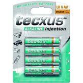 Tecxus Mignon LR 6 AA - Batterie 4 x AA Alkalisch