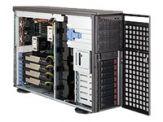 Supermicro SC747 TG-R1400B-SQ - Tower - 4U - Erweitertes ATX - SATA/SAS - Hot-Swap 1400 Watt - Dunkelgrau - USB