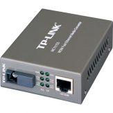 TP-LINK MC111CS - Medienkonverter - RJ-45 / SC-Einzelmodus - bis zu 20 km - 1550 (TX) / 1310 (RX) nm