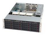 Supermicro SC836 E16-R1200B - Rack - einbaufähig - 3U - Erweitertes ATX - SATA/SAS - Hot-Swap 1200 Watt - Schwarz - USB/seriell
