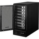 Sharkoon 8-Bay RAID-Station - Festplatten-Array - 8 Schächte ( SATA-300 ) - Serial ATA-300, SuperSpeed USB 3.0 (extern)