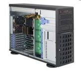 Supermicro SC745 BTQ-R1K28B-SQ - Tower - 4U - verbessertes, erweitertes ATX - SATA/SAS - Hot-Swap 1280 Watt - Schwarz - USB