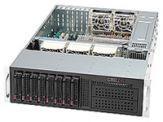 Supermicro SC835 TQ-R800B - Rack - einbaufähig - 3U - Erweitertes ATX - SATA/SAS - Hot-Swap 800 Watt - Schwarz