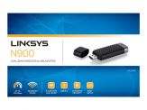 Linksys High Performance Dual-Band N USB Adapter AE3000 - Netzwerkadapter - USB 2.0